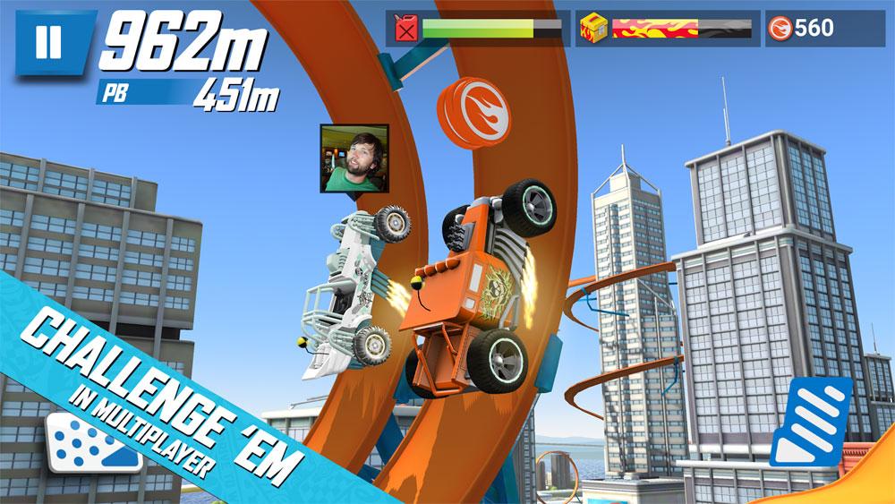 دانلود Hot Wheels Race Off 1.1.11648 - بازی هیجان اور ماشین ها اندروید + مود