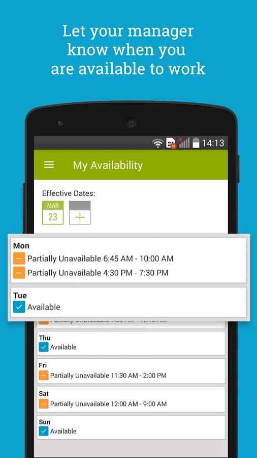 دانلود HotSchedules 4.109.0-1274 - ابزار مدیریت و برنامه ریزی کارمندان اندروید