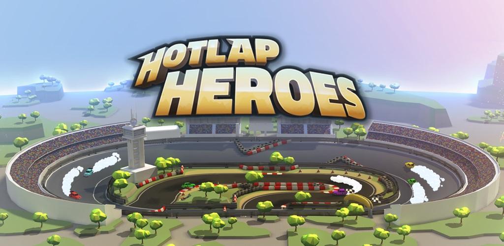 دانلود Hotlap Heroes 1.1 - بازی ماشین سواری 8 نفره فوق العاده اندروید + دیتا + کنترلر