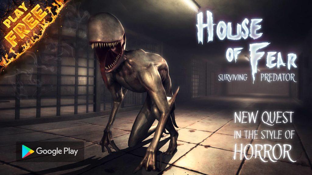 دانلود House of Fear: Surviving Predator 0.8 - بازی ترسناک