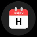Hurry - Countdown to Birthday/Vacation