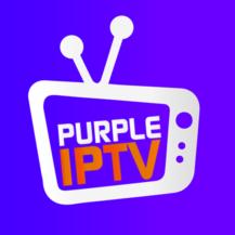 IPTV Smart Purple Player - No Ads-Logo