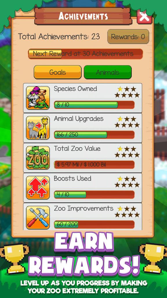 دانلود Idle Zoo Tycoon: Tap, Build & Upgrade a Custom Zoo 1.2.0 - بازی جالب و محبوب