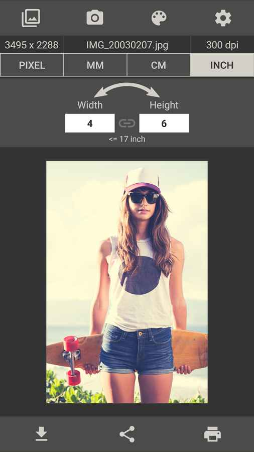 دانلود Image Size - Photo Resizer Pro 6.2 - برنامه آسان و سریع تغییر اندازه تصاویر اندروید !