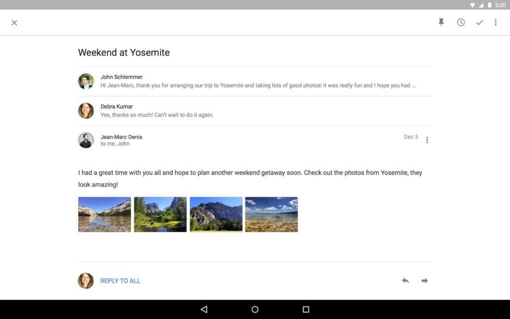 دانلود Inbox by Gmail 1.76.207204234.release - برنامه مدیریت جیمیل اندروید