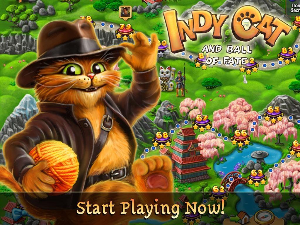دانلود Indy Cat Match 3 1.59 - بازی پازل فوق العاده زیبا و خاص