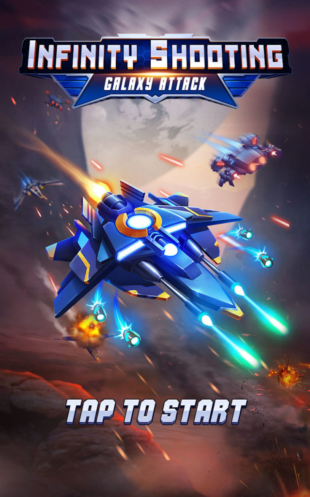 دانلود Infinity Shooting: Galaxy War 2.0.1 - بازی اکشن نبرد در کهکشان اندروید + مود