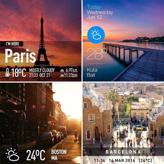 دانلود InstaWeather Pro 5.2.22 - نرم افزار هواشناسی متفاوت اندروید!