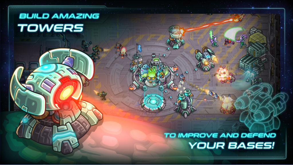 دانلود Iron Marines 1.5.5 - بازی استراتژی خارق العاده اندروید + مود + دیتا