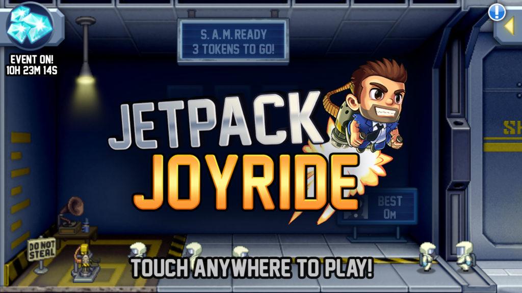 دانلود Jetpack Joyride 1.10.9 - بازی رکوردی و مهیج جت سواری اندروید + مود