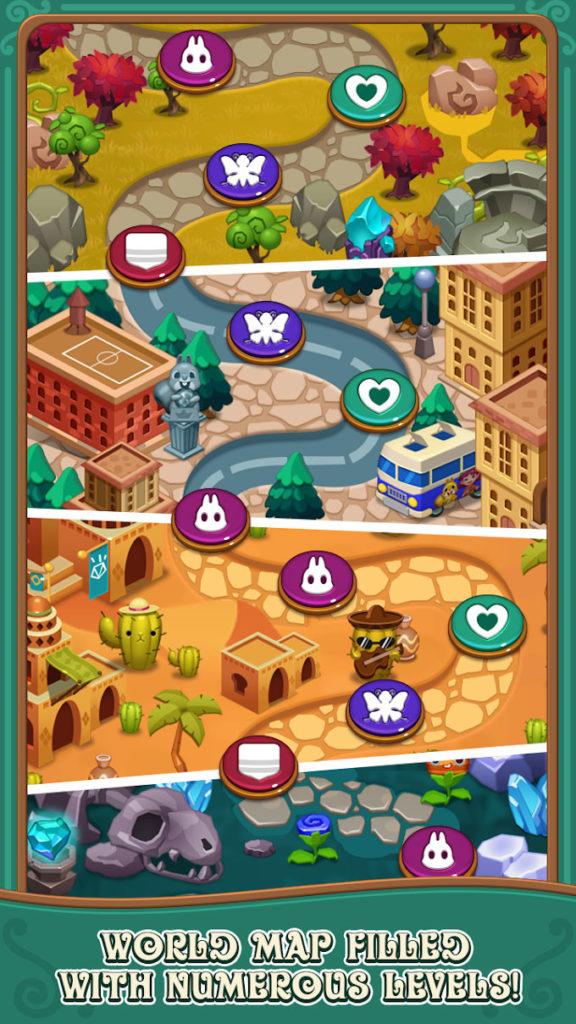 دانلود Jewels fantasy : match 3 puzzle 1.0.38 - بازی پازل و تطبیق ساز محبوب