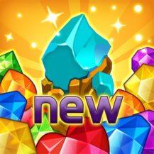 Jewels fantasy match 3 puzzle