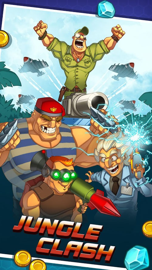 دانلود Jungle Clash 1.0.18 - بازی استراتژیک