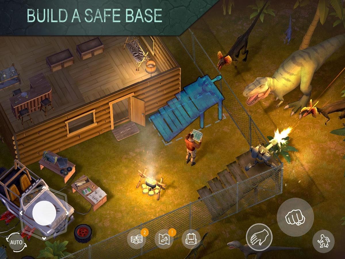 دانلود Jurassic Survival 1.1.6 - بازی محبوب و پرطرفدار بقا در دوران ژوراسیک اندروید + مود