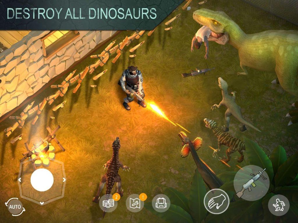 دانلود Jurassic Survival 1.1.27 - بازی محبوب و پرطرفدار بقا در دوران ژوراسیک اندروید + مود