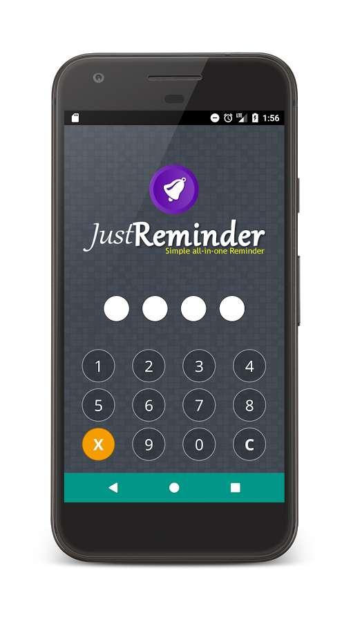دانلود Just Reminder Premium 2.3.13 - یادآور ساده و پر امکانات اندروید!