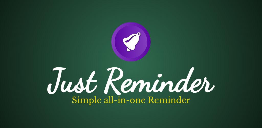 Just Reminder Premium