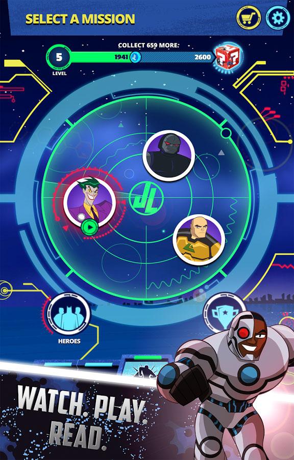 دانلود Justice League Action Run 2.03 - بازی اکشن