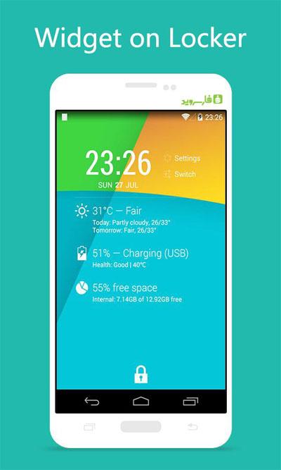 KK Locker - Lollipop & KitKat Android