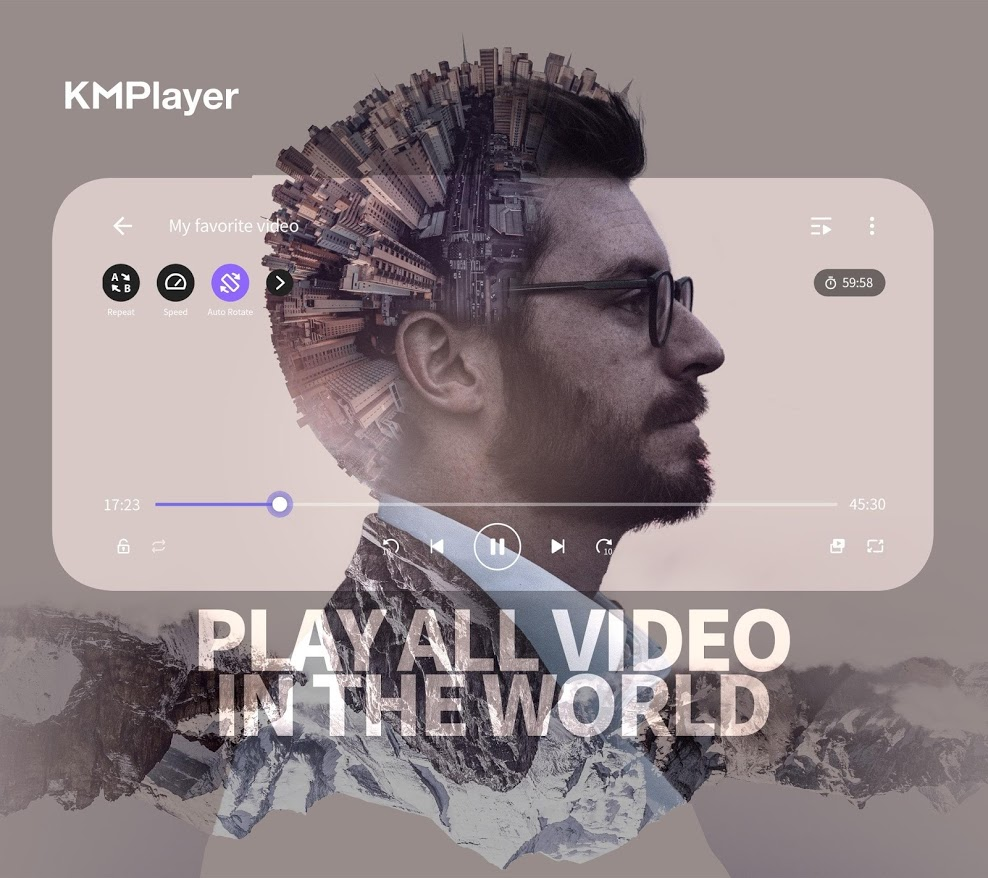 دانلود KMPlayer (HD Video,Media,Free) 20.02.271 - کی ام پلیر اندروید + Pro + مود