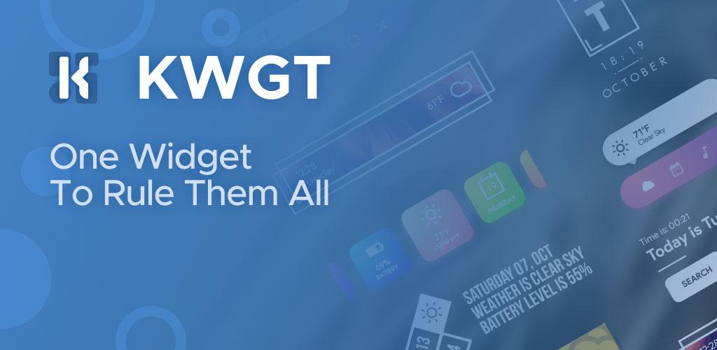 KWGT Kustom Widget Maker Pro