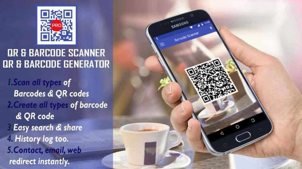 دانلود Keyboard Team QR & Barcode Scanner Pro 1.3 - برنامه بارکد اسکنر سریع و هوشمند اندروید !