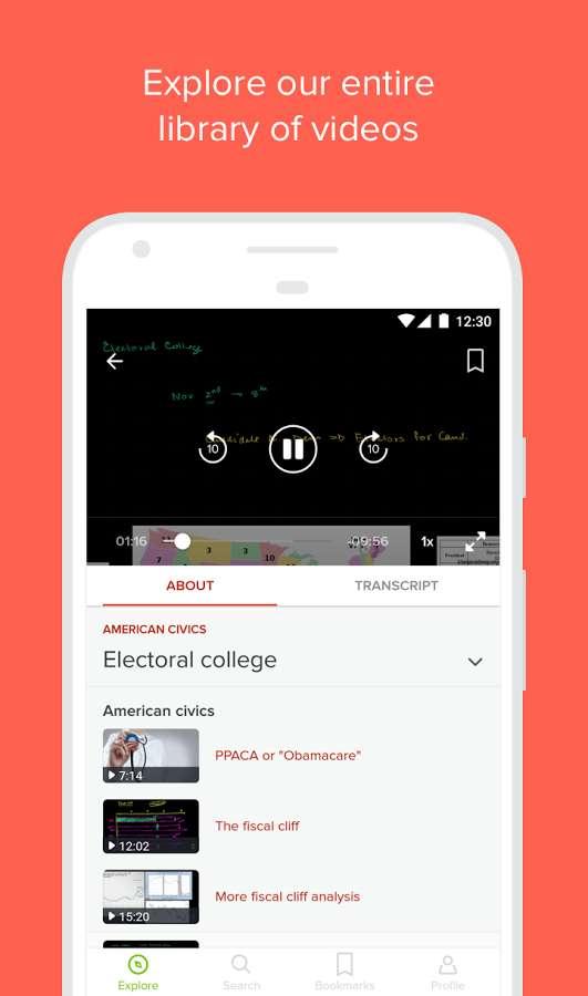 دانلود Khan Academy 5.2.0 b813 - برنامه محبوب آکادمی آموزشی اندروید !