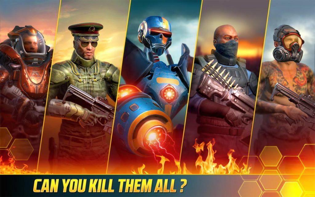 دانلود Kill Shot Bravo 5.4 - بازی اسنایپری شلیک مرگبار اندروید + مود