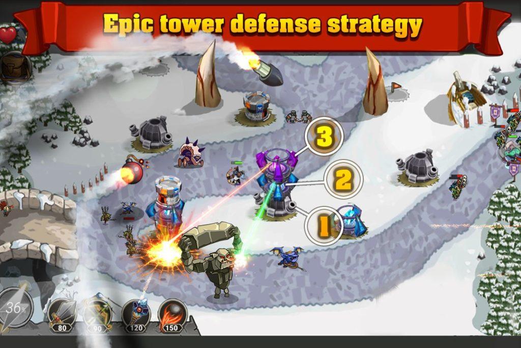دانلود King of Defense_The Last Defender 1.0.92 - بازی استراتژی و برج دفاعی