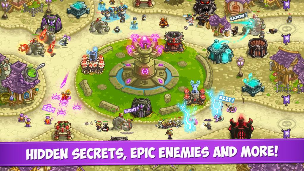 دانلود Kingdom Rush: Vengeance 1.7.4 - بازی استراتژی خاص و محبوب