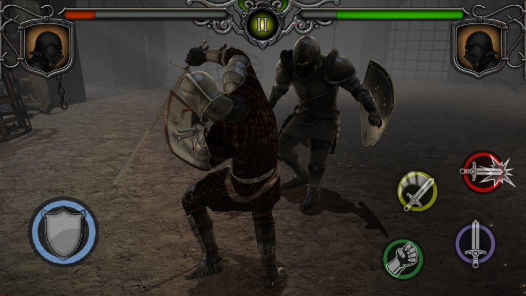 دانلود Knights Fight: Medieval Arena 1.0.21 - بازی اکشن و شمشیری