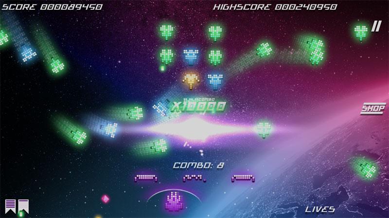 دانلود Kosmik Revenge 1.5.4 – بازی آرکید و جذاب انتقام فضایی اندروید + دیتا