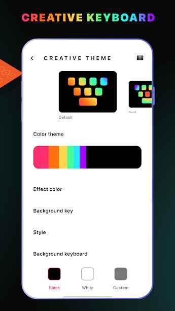 دانلود LED Keyboard Lighting - Mechanical Keyboard RGB PRO 5.2.7.1 - صفحه کلید ساده و رنگارنگ ال ای دی لایتینگ اندروید!