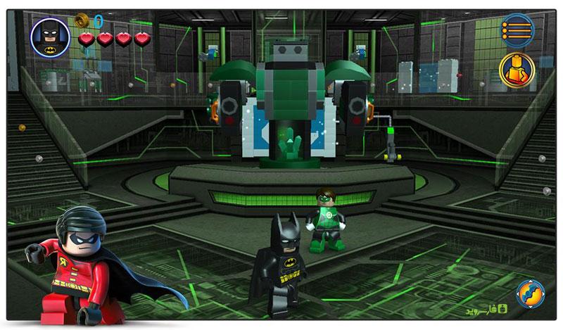 دانلود LEGO Batman: DC Super Heroes 1.05.4.935 - بازی لگو بتمن اندروید + مود + دیتا