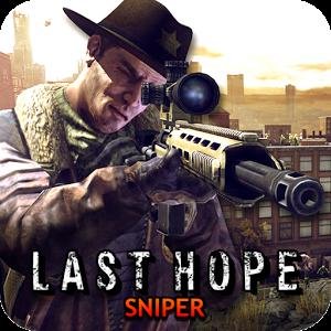 """دانلود Last Hope Sniper – Zombie War 1.34 – بازی اکشن """"آخرین امید تک تیرانداز"""" اندروید + مود + مگامود"""