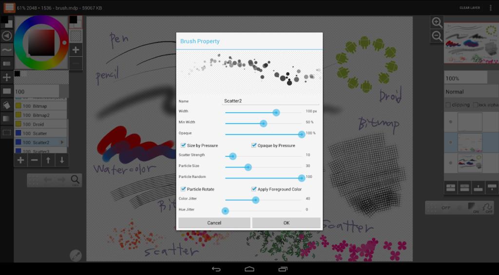 دانلود LayerPaint HD 1.9.20 - اپلیکیشن قدرتمند و محبوب نقاشی اندروید!
