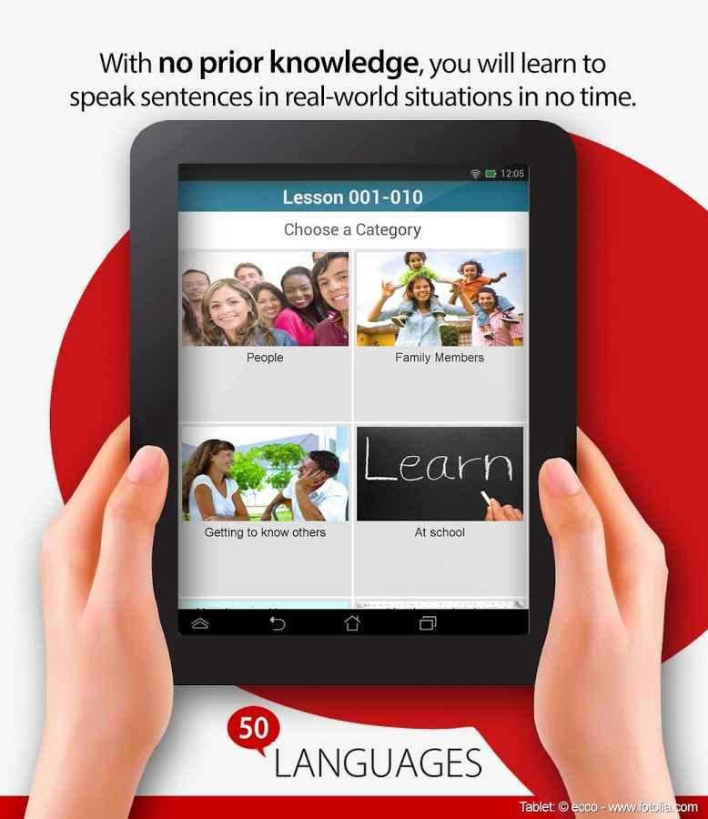دانلود Learn 50 Languages Full 11.3 - برنامه یادگیری 50 زبان مختلف اندروید