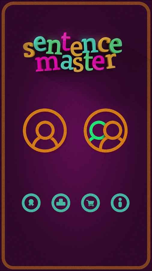 دانلود Learn English Sentence Master Full 1.5 - برنامه یادگیری سرگرم کننده انگلیسی اندروید