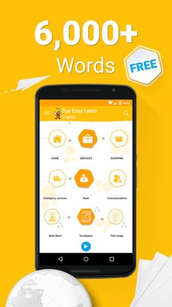 دانلود Learn Langauges - 6,000 Words 5.7.2 - بهترین برنامه یادگیری زبان اندروید