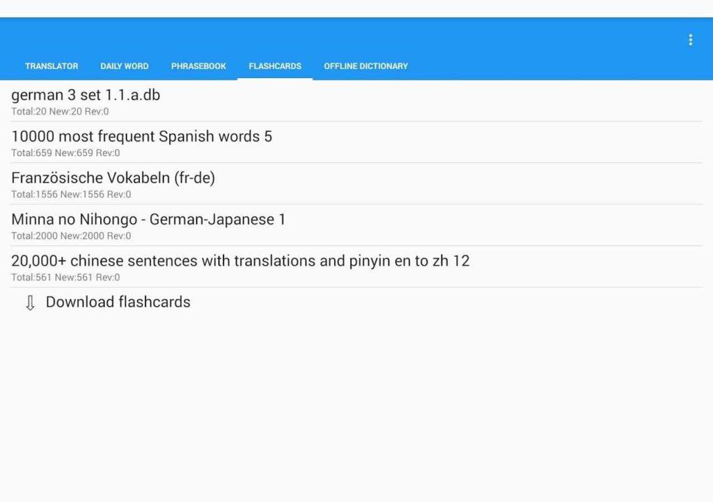 دانلود Learn with Talking Translator Premium 6.9.1 - برنامه یادگیری و ترجمه زبان اندروید