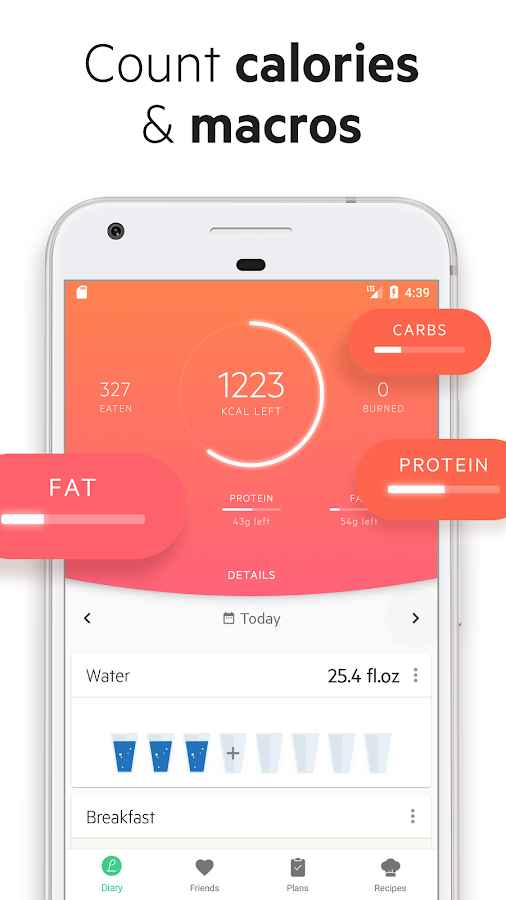 دانلود Lifesum Premium 7.3.7 - برنامه پرامکانات و محبوب رژیم غذایی اندروید !