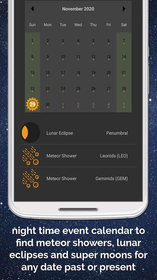 دانلود Light Pollution Map - Dark Sky Pro 4.1.7 - برنامه اندروید نمایش نقاط تاریک آسمان در شب !