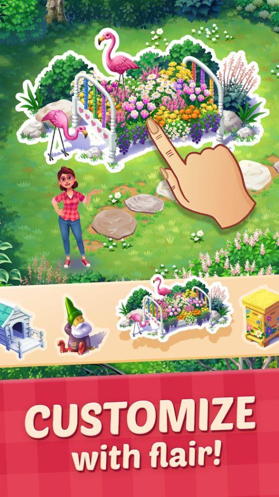 دانلود Lily's Garden 1.38.0 - بازی پازلی و مدیریتی