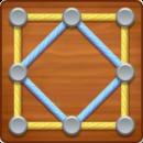 """دانلود Line Puzzle: String Art 1.4.42 - بازی پازل کم حجم و سرگرم کننده """"نقطه بازی"""" اندروید + مود"""