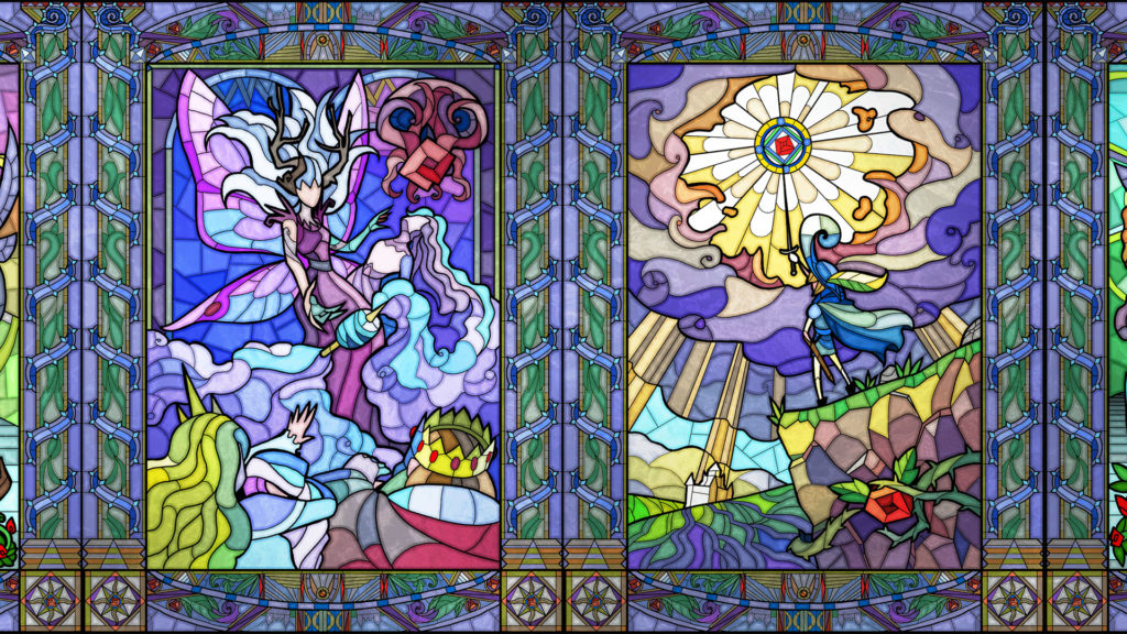 دانلود Little Briar Rose - A Stained Glass Adventure 1.2 - بازی ماجراجویی رنگارنگ و جالب