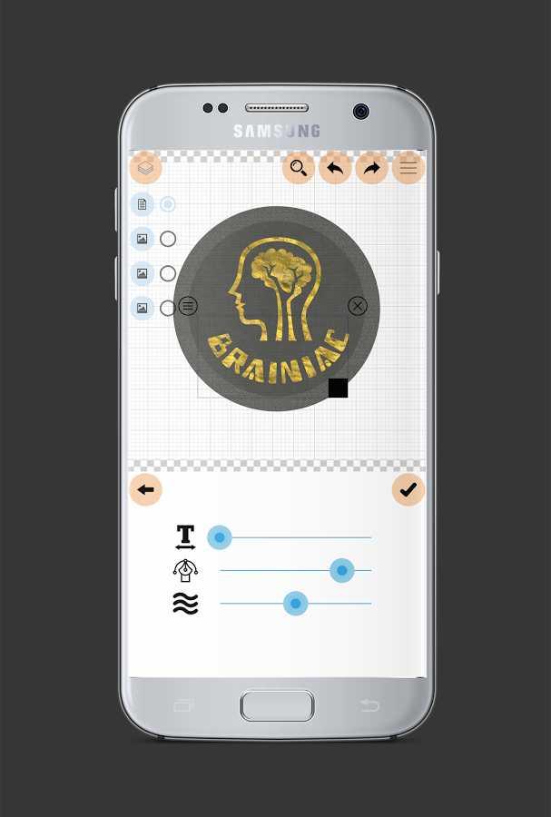 دانلود Logo Maker Plus- Graphic Design Generator Full 1.2.6.3 - برنامه طراحی و ساخت لوگو اندروید + رایگان