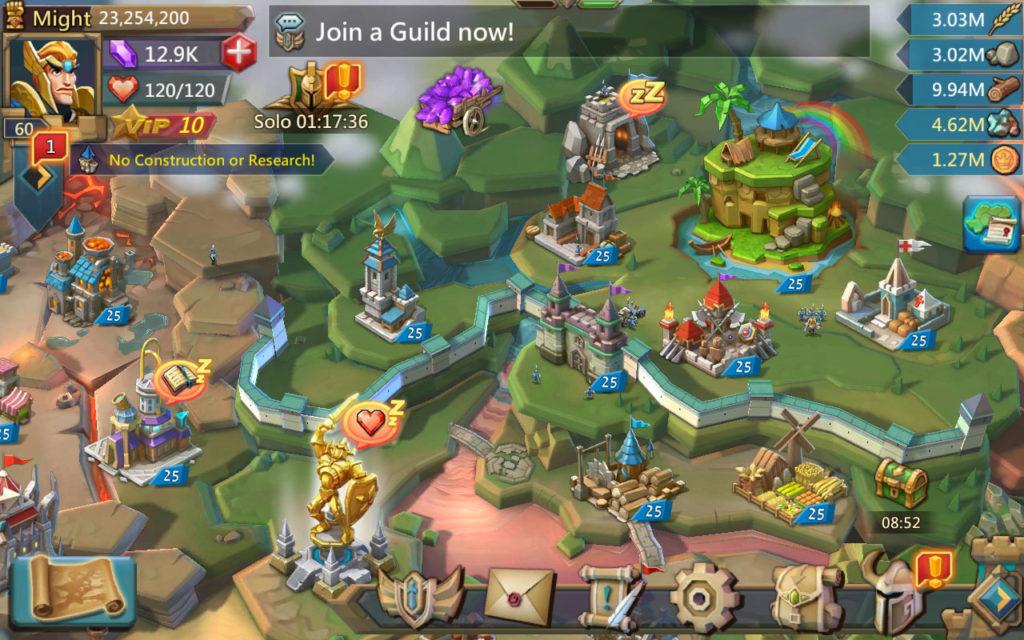 دانلود Lords Mobile: Battle of the Empires - Strategy RPG 1.96 - بازی استراتژی آنلاین پادشاهان موبایل اندروید + دیتا