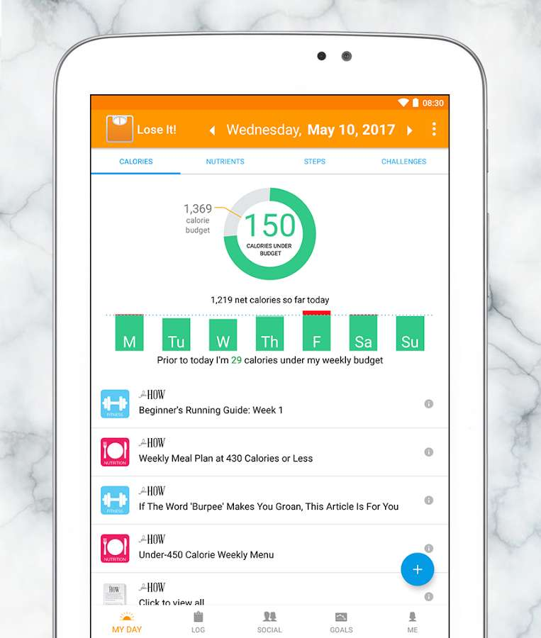 دانلود Lose It - Calorie Counter Premium 9.5.0 - برنامه کاهش وزن آسان اندروید!