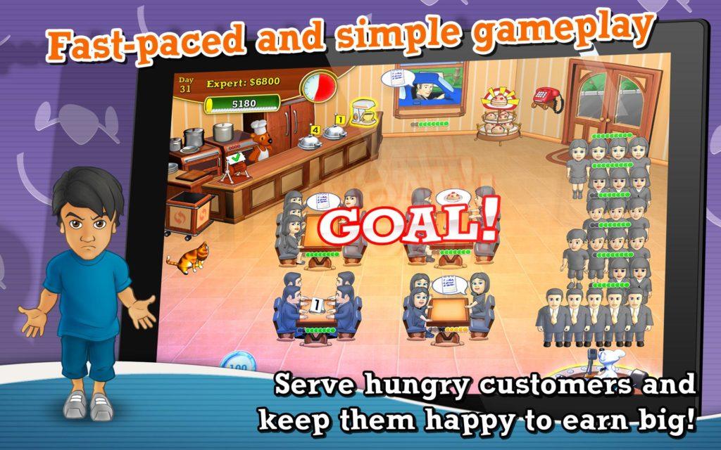 دانلود Lunch Rush HD Full 2018.4.158 - بازی خرس سرآشپز اندروید !