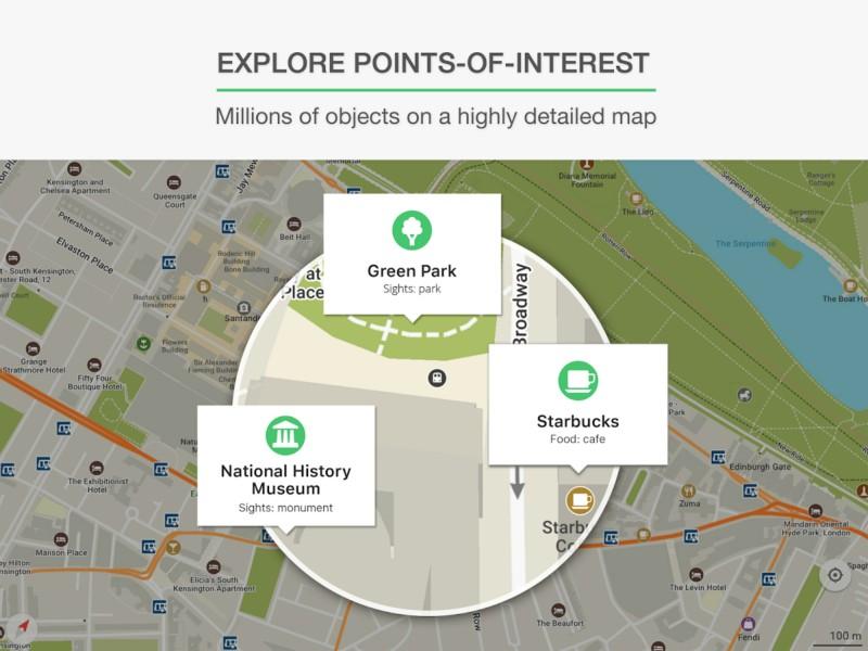 دانلود MAPS.ME Full 8.3.4 - نقشه آفلاین و پر امکانات اندروید + دیتابیس